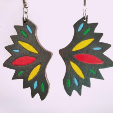 IMG_20190721_132231.jpg Download free STL file Butterfly Earrings • 3D print model, SamiJoe
