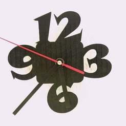 IMG_20190516_173810.jpg Télécharger fichier STL gratuit Horloge murale DIY Lasercut ou impression 3D • Modèle à imprimer en 3D, SamiJoe