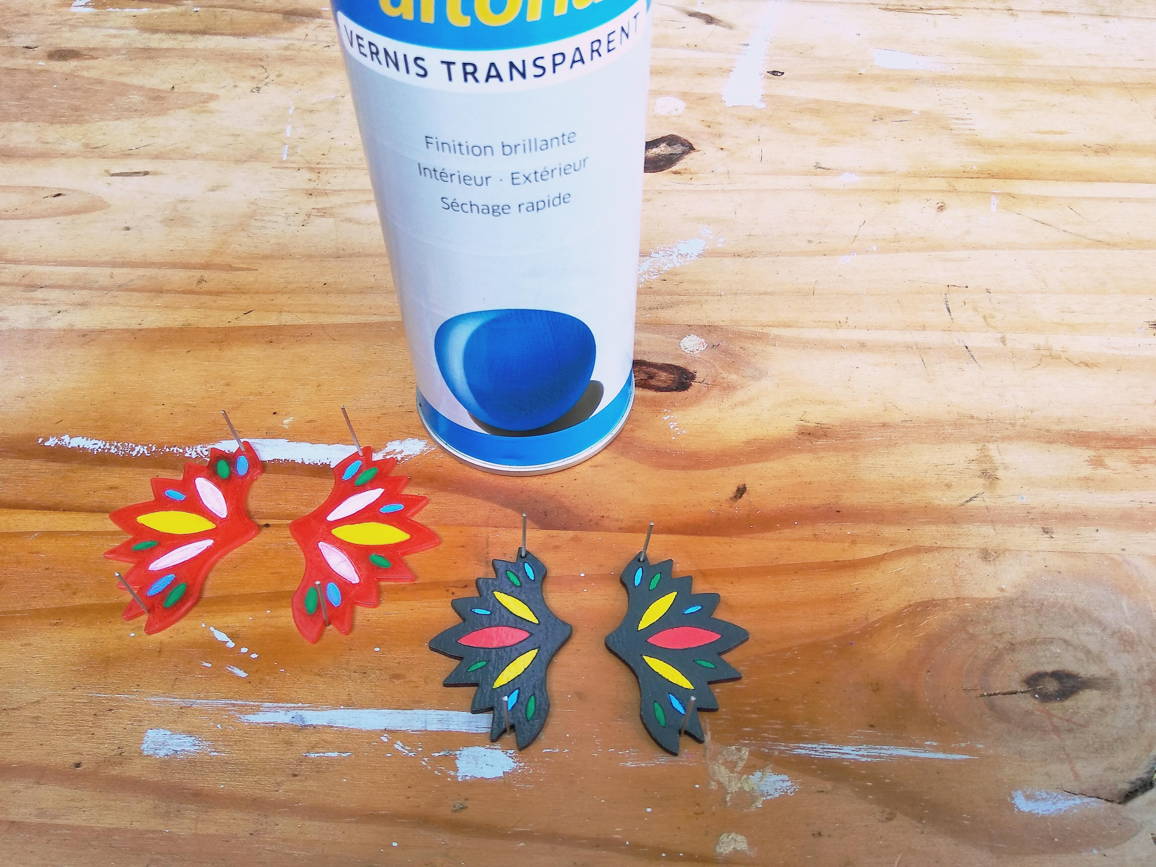 IMG_20190721_121256.jpg Download free STL file Butterfly Earrings • 3D print model, SamiJoe