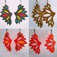 IMG_20190721_132636.jpg Download free STL file Butterfly Earrings • 3D print model, SamiJoe
