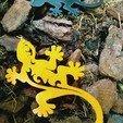 Télécharger fichier STL gratuit Boucles d'oreilles Gecko ou porte-clés • Plan pour imprimante 3D, SamiJoe