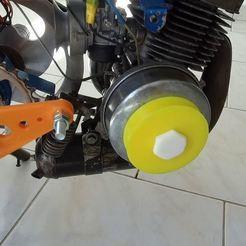 vlcsnap-2020-12-05-18h17m25s391.jpg Télécharger fichier STL gratuit MBK 51 Poulie lanceur / Starter pulley • Design à imprimer en 3D, SamiJoe