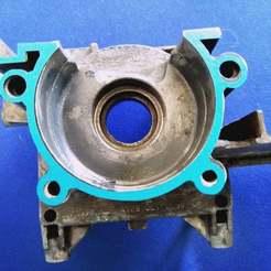 IMG_20200430_143606.jpg Download free STL file Stihl FS450 engine gasket / motor gasket • 3D print template, SamiJoe