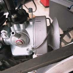 IMG_20200420_111354.jpg Télécharger fichier STL gratuit Cyclo / MBK / Peugeot Boîte à air Venturi Carbu 15 Dellorto / Venturi style air box for Dellorto 15 carburetor • Design à imprimer en 3D, SamiJoe