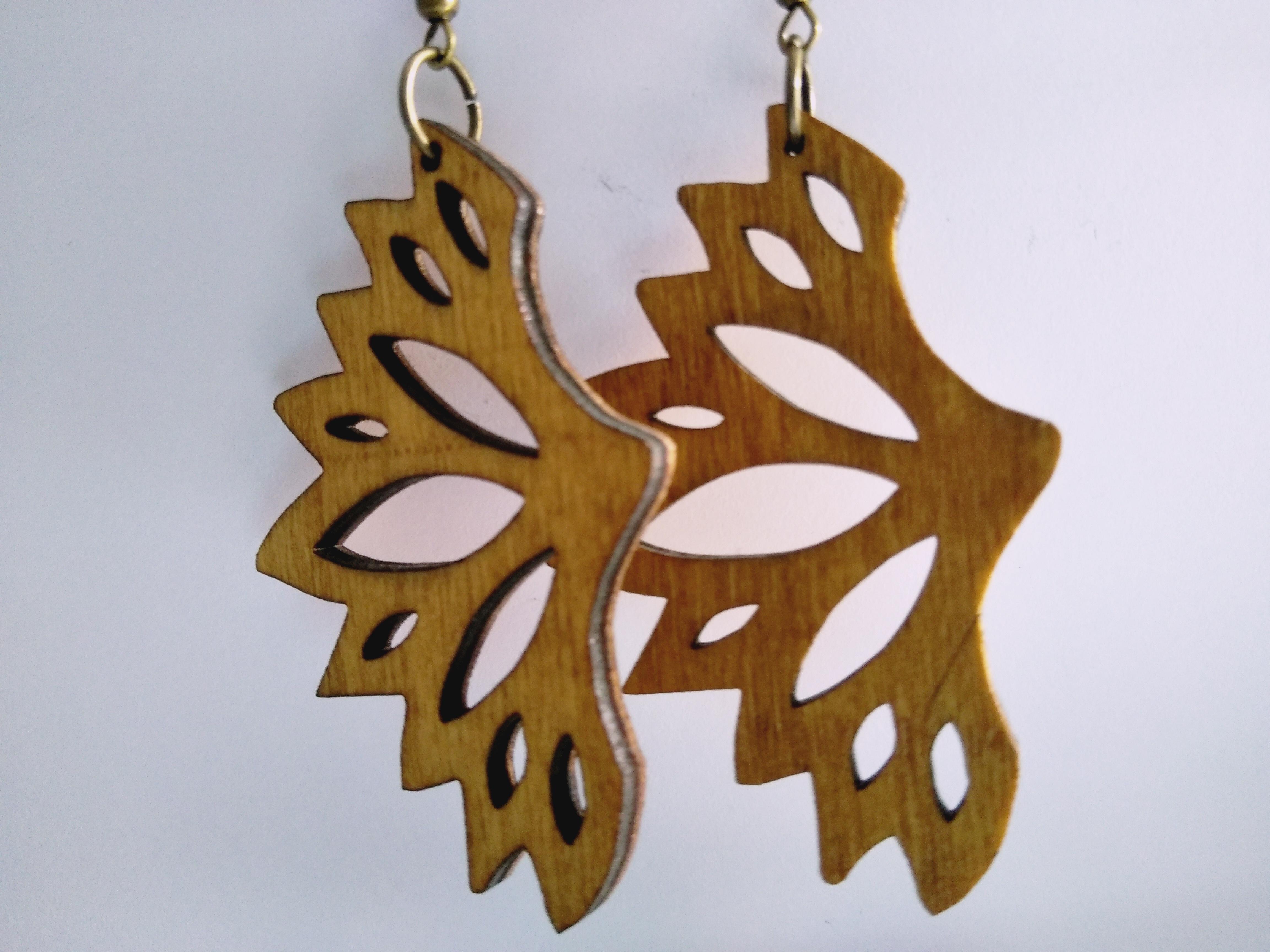 IMG_20190721_131834.jpg Download free STL file Butterfly Earrings • 3D print model, SamiJoe
