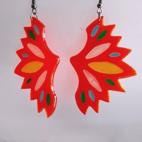 IMG_20190721_131951.jpg Download free STL file Butterfly Earrings • 3D print model, SamiJoe