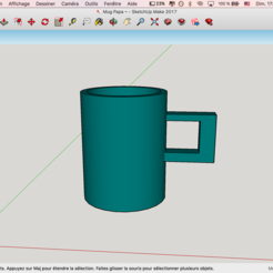 3D file Mug Navy Blue, LeO