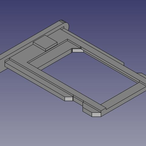 Download free STL file NanoSim iPhone Drawer • 3D printer model, BENHUR