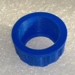 Download free STL file Ring for quick coupling water hose 19 • Design to 3D print, BENHUR