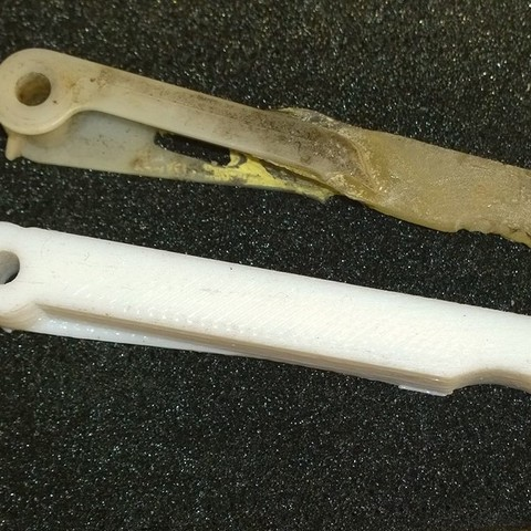 Download free STL file Trunk release lever Space 2 91-95 • Template to 3D print, BENHUR