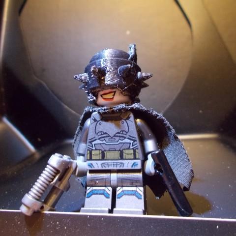 Download STL file The Batman Who Laughs - LEGO HELMET ・ Cults