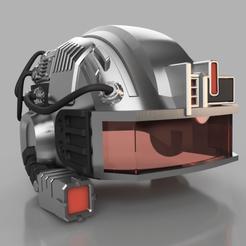 Descargar modelo 3D All New Wolverine - weapon X helmet, 3DJuenjo