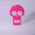 Télécharger modèle 3D Ouvre-bouteille à tête de mort, 3DJuenjo