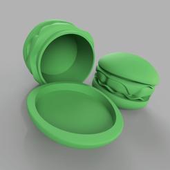 Download STL file Hamburger Can • 3D printer template, 3DJuenjo