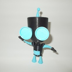 Download 3D printing files GIR - Invader Zim, 3DJuenjo