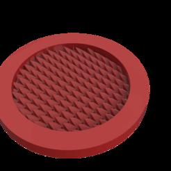 The Coaster By HP.png Télécharger fichier STL gratuit Hpstudio Coaster (sans support d'impression 3D • Design imprimable en 3D, har3336