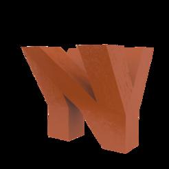 Keychain copy.png Télécharger fichier STL Table Top NY (NewYork) sans soutien • Objet imprimable en 3D, har3336