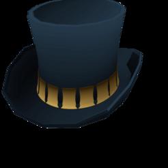 Hp Studio Hat.png Télécharger fichier STL gratuit Porte-clés du chapeau • Design pour imprimante 3D, har3336