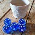 Download free 3D printer model Gobelet perudo extension (dice cup), xavden