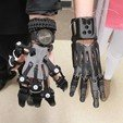 Free 3d printer files 3D Printed Exoskeleton Hands, PraetorDaemon