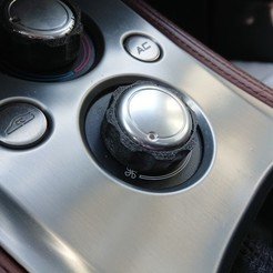 Download free STL Lotus Evora Heater knob rubber ring, jimmybondi
