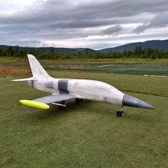 3d model EL-39 - Semi scale RC jet for 120 mm EDF, tahustvedt