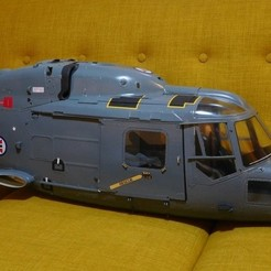 STL file Vario Lynx 1:8 scale cabin and cockpit doors., tahustvedt