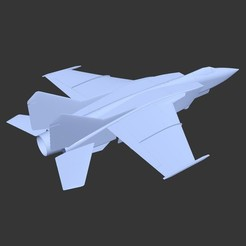 Free 3D print files BETA - Giant jet for 145 mm EDF - MIR-25 Boxfat, tahustvedt