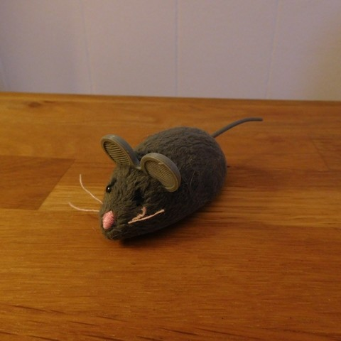 Free STL Hex Bug Mouse Cat Toy replacement ears., tahustvedt