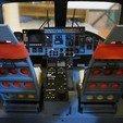 DSCN0976.JPG Download STL file Vario Lynx 1:8 scale cockpit interior. • Template to 3D print, tahustvedt