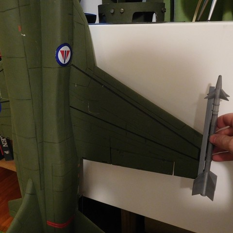 stl Escala Misil lateral AIM-9 gratis, tahustvedt