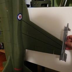 Diseños 3D gratis Escala Misil lateral AIM-9, tahustvedt