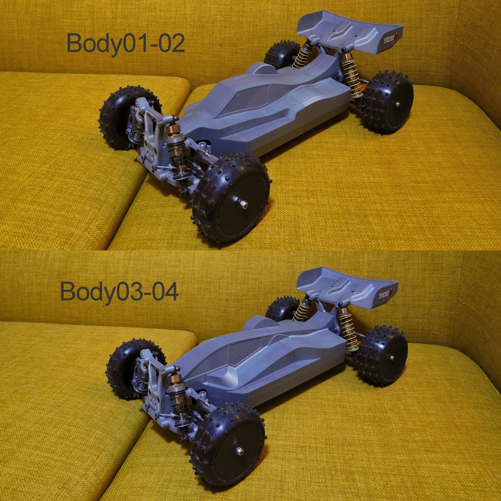 DSCN1409.JPG Download free STL file Mk Ultra - 3D printable 1/10 4wd buggy • Object to 3D print, tahustvedt