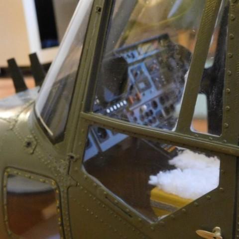 DSCN0979.JPG Download STL file Vario Lynx 1:8 scale cockpit interior. • Template to 3D print, tahustvedt