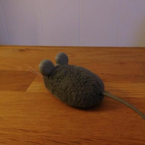 DSCN0799.JPG Download free STL file Hex Bug Mouse Cat Toy replacement ears. • Design to 3D print, tahustvedt