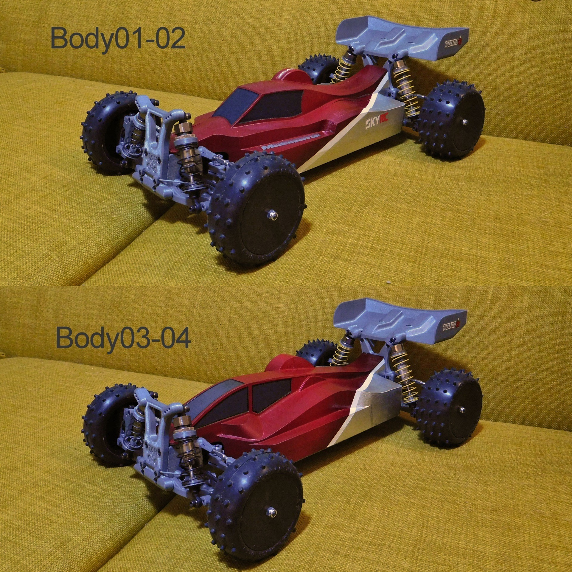 MKUltra12.jpg Download free STL file Mk Ultra - 3D printable 1/10 4wd buggy • Object to 3D print, tahustvedt