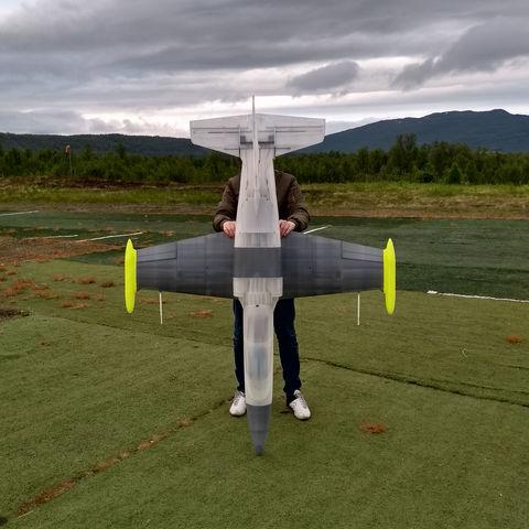Télécharger STL gratuit Pièce de test gratuite pour le jet électrique EL-39., tahustvedt