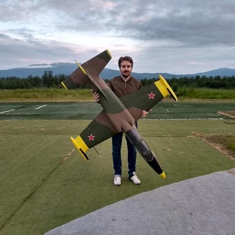 fichier stl EL-39 - Jet RC semi-échelle pour 120 mm EDF, tahustvedt