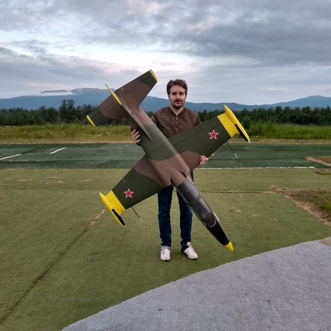 Modelos 3D EL-39 - Chorro RC semiescala para 120 mm EDF, tahustvedt