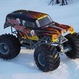 DSCN1194.JPG Download free STL file Fully printable Monster Truck • 3D printer design, tahustvedt