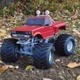 DSCN1433.JPG Download free STL file Fully printable Monster Truck • 3D printer design, tahustvedt
