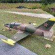 Descargar diseños 3D EL-39 - Chorro RC semiescala para EDF de 120 mm, tahustvedt