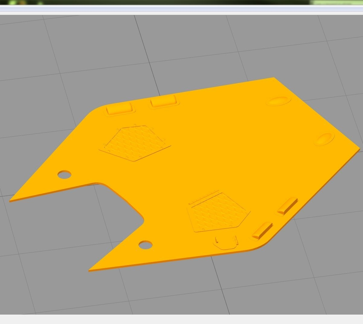 MicroIGB01.jpg Download free STL file Revell 1:32 Lynx Has.3 conversion kit from folding tail to fixed tail. • 3D printer object, tahustvedt