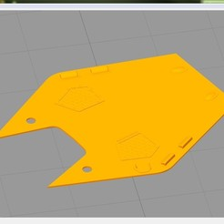 Download free STL file Revell 1:32 Lynx Has.3 conversion kit from folding tail to fixed tail. • 3D printer object, tahustvedt