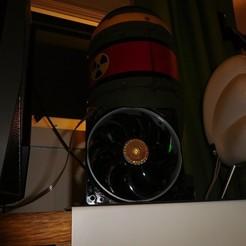DSCN1567[1].jpg Télécharger fichier STL gratuit Cooler Master Sickleflow 120mm performances du ventilateur mod. • Objet à imprimer en 3D, tahustvedt