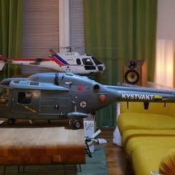 3D print model Vario Lynx 1:8 external scale detail parts., tahustvedt