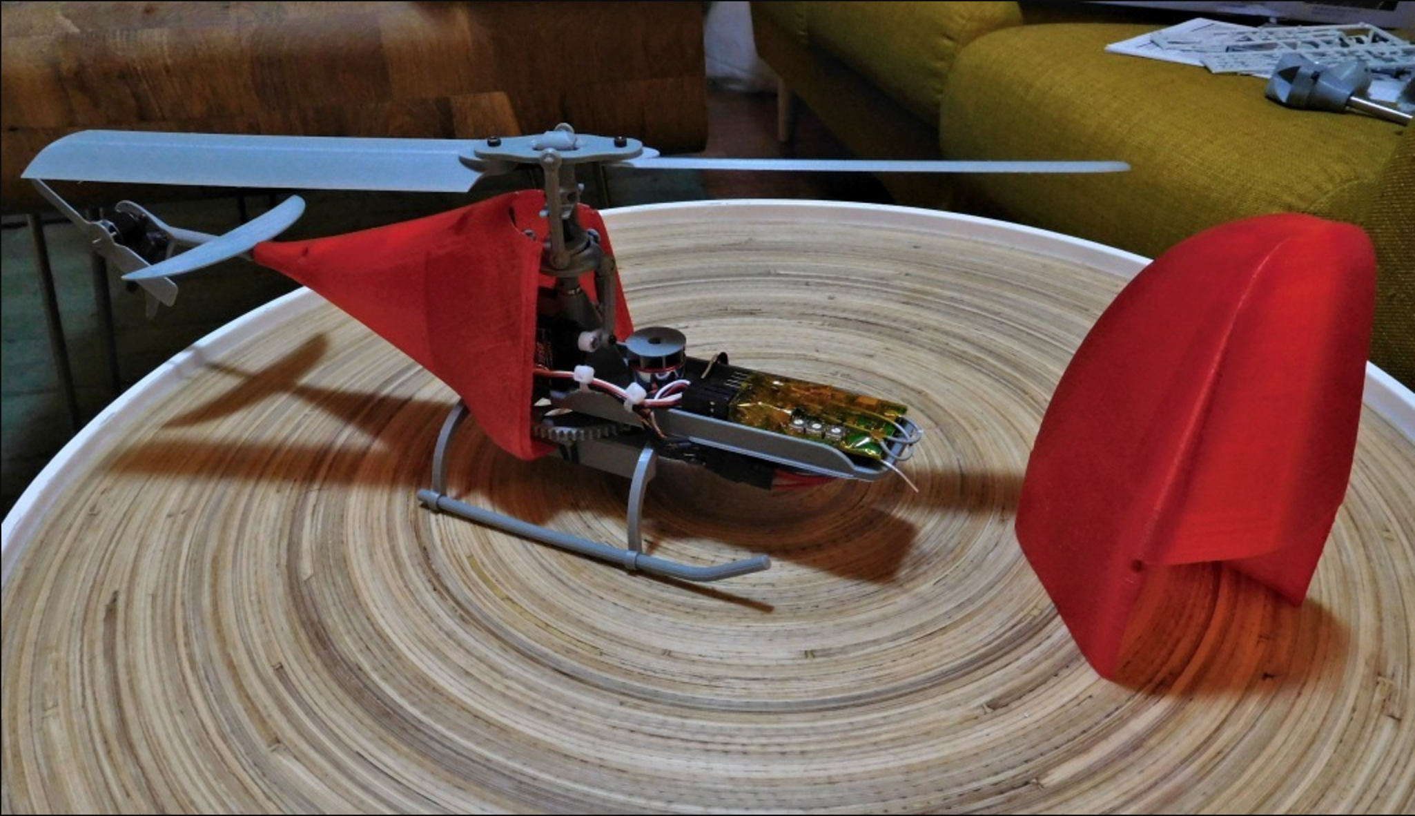 Capture d'écran 2017-04-04 à 10.57.53.png Download free STL file Fully Printable Fixed Pitch RC helicopter. • Object to 3D print, tahustvedt