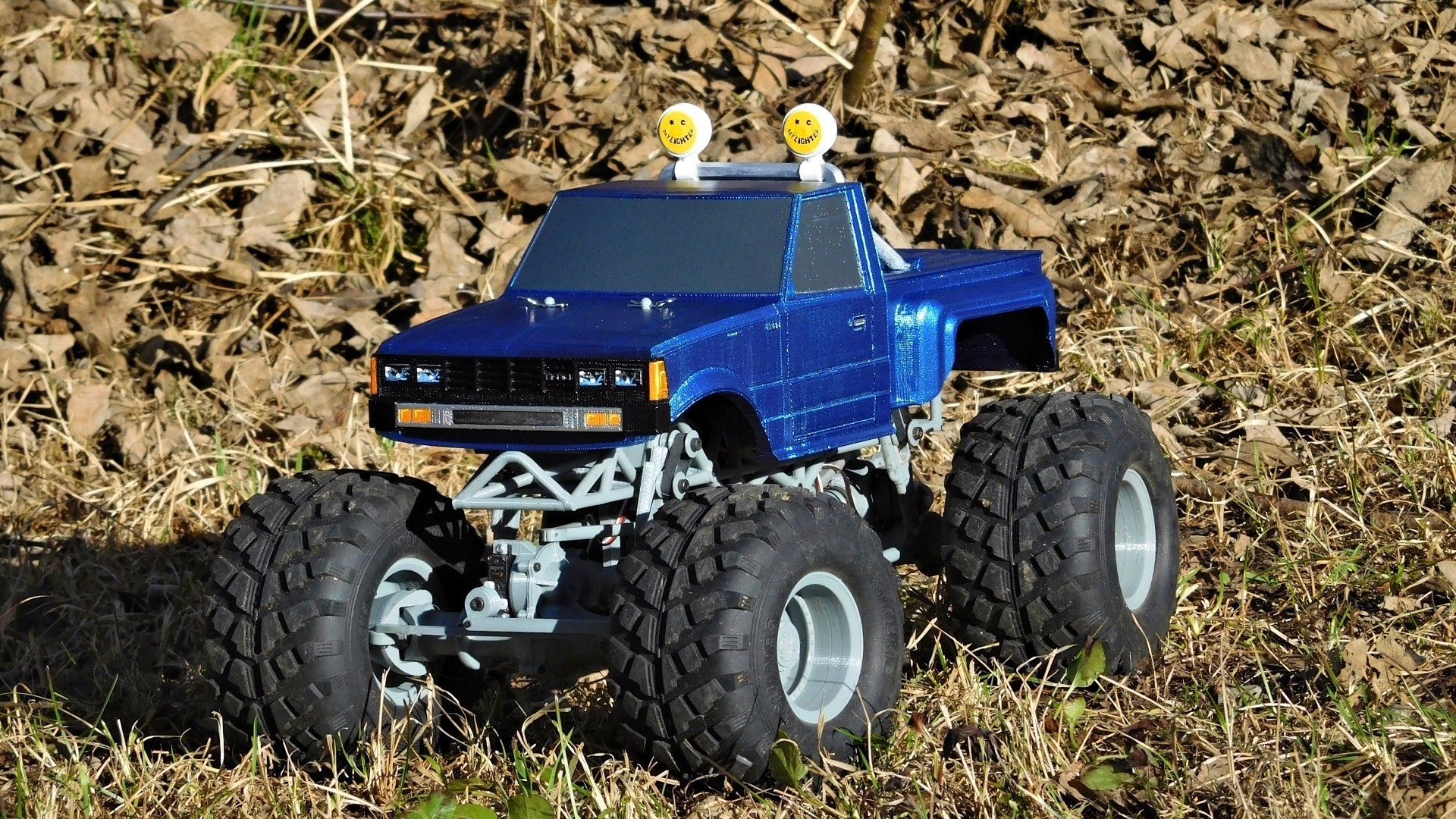 DSCN1244.JPG Download free STL file Fully printable Monster Truck • 3D printer design, tahustvedt