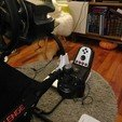 3D print model Playseat Challenge Logitech shifter mount, tahustvedt