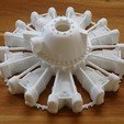 Download 3D printer files Dummy radial engine. Pratt & Whitney R2800, tahustvedt